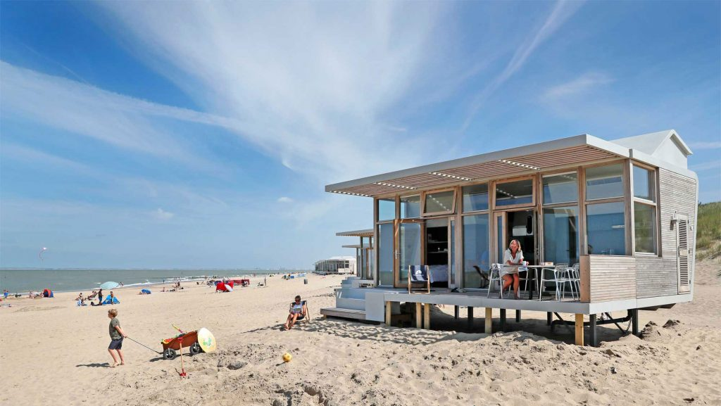Uitgelicht strandhuisje: Strandhuisje Molecaten Park Hoogduin