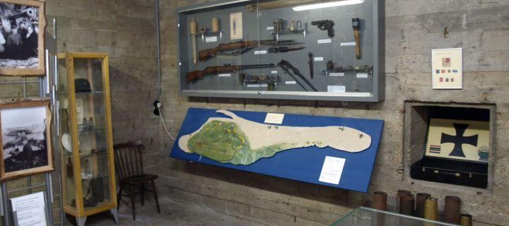 Bunkermuseum Schlei op Schiermonnikoog