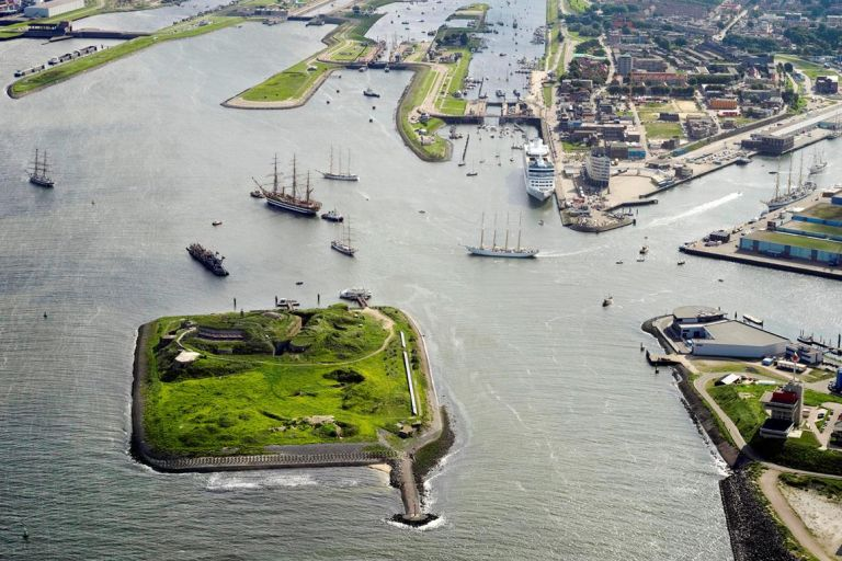 Bezoek Forteiland IJmuiden tijdens de publieksdagen