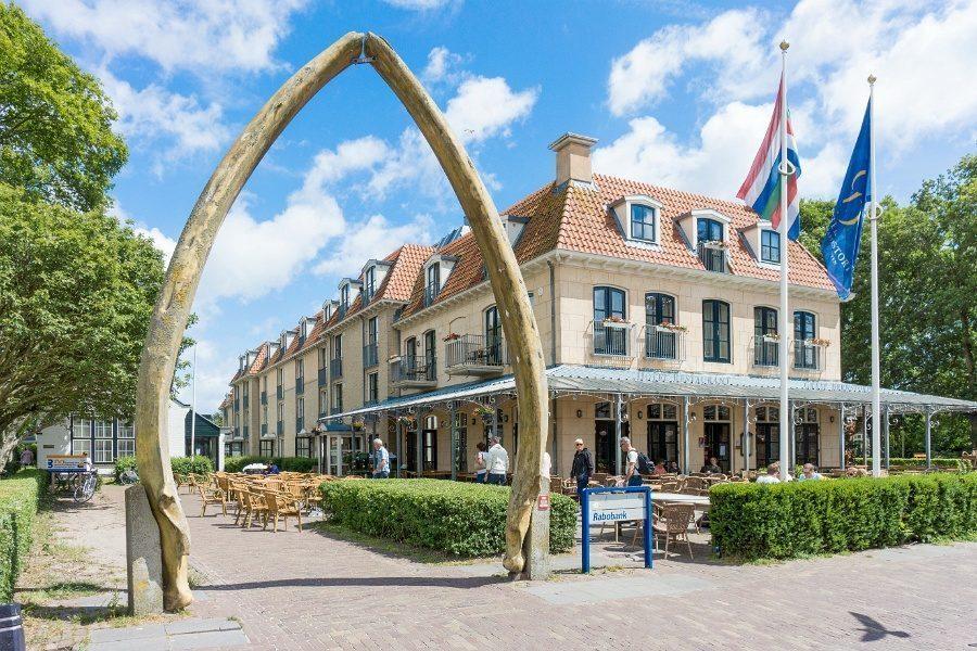 Centrum van Schiermonnikoog: plaats, dorp