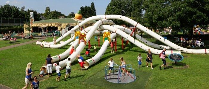 Activiteiten Zuid-Holland: Speeltuin Linnaeushof in Bennebroek