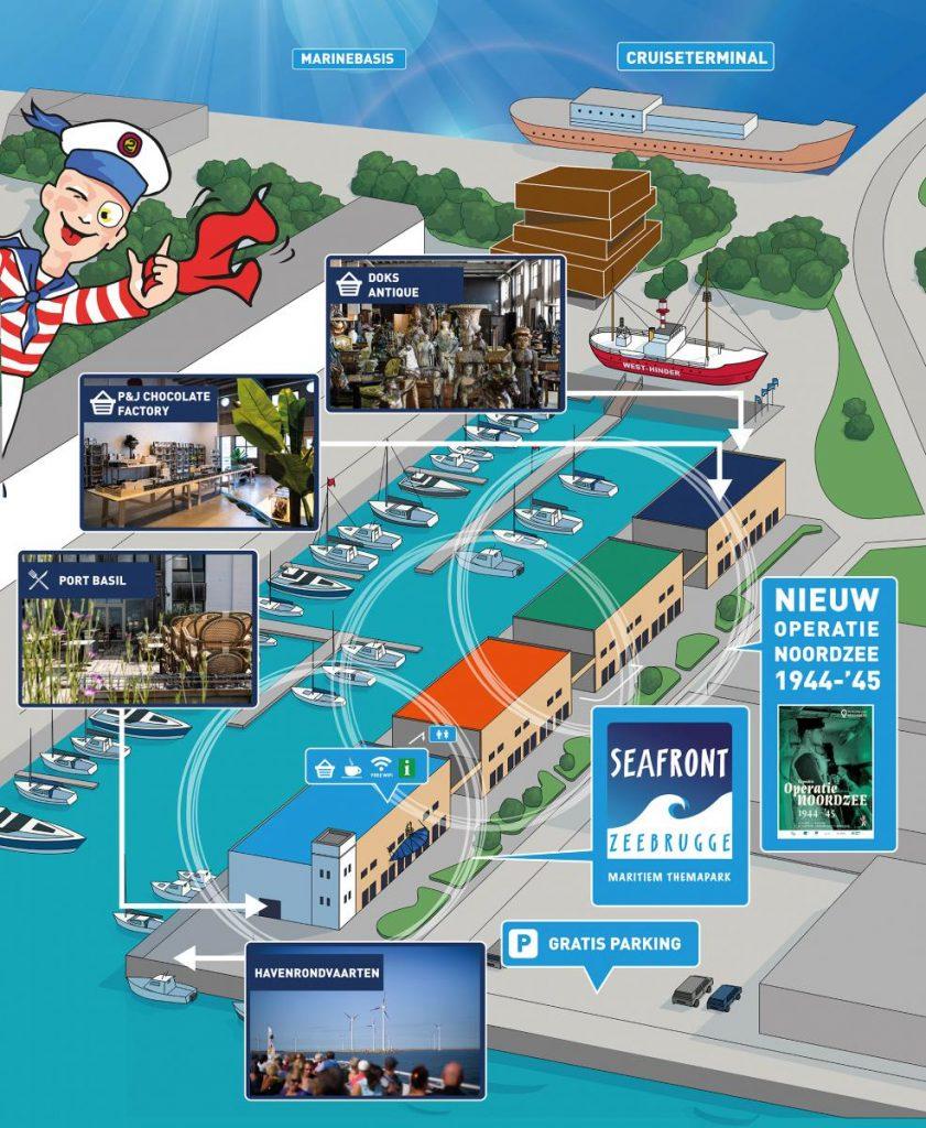 Activiteiten aan Zee in België: Seafront Zeebrugge