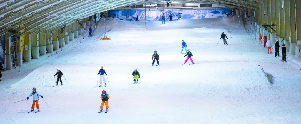 Activiteiten Wijk aan Zee: Dagje skiën in Snowworld