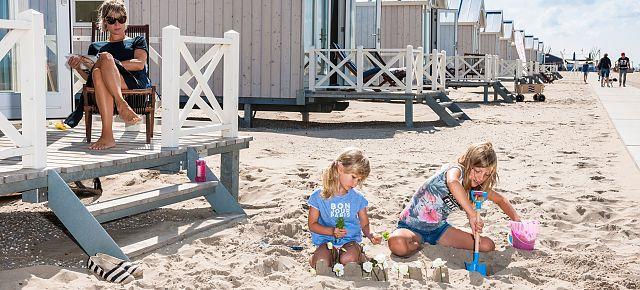Strandhuisjes Den Haag